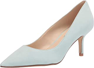Nine West Women's Arlene Pump, Light Gray Suede, 6.5