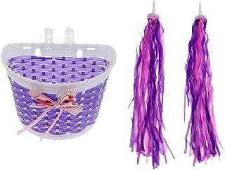 scooter basket purple