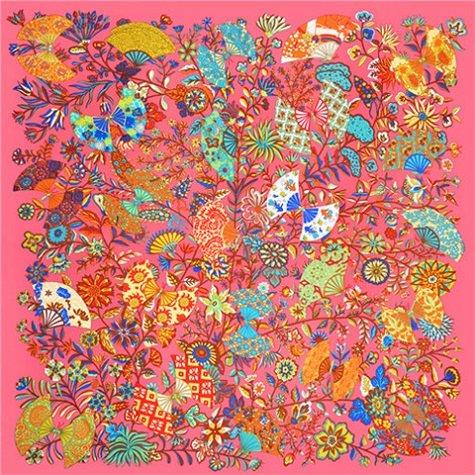 YDMZMS sjaal van zijde, 100% voor dames, grote sjaaltjes met opdruk van het merk Bandana sjaal, sjaal, sjaal, sjaal, voor dames, 130 x 130 cm, 18-27