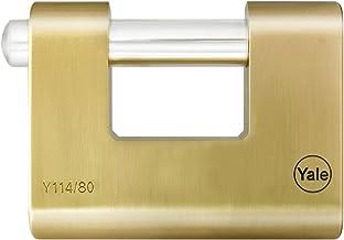Yale YE1C//20//122//1 Cadenas laiton /à combinaison Laiton 20 mm