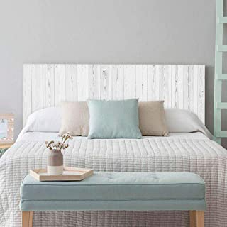 comprar comparacion setecientosgramos Cabecero Cama PVC | Whitewood | Varias Medidas | Fácil colocación | Decoración Dormitorio (115x60cm)