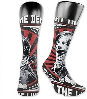 The Walking Dead Fear The Living Socks,High Ankle Socks Halloween Socks