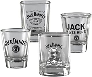 Jack Daniel's Shot Glass Set of 4