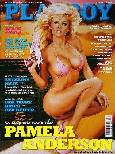 Playboy Magazin Juli 2001 Zeitschrift Original Deutsche Ausgabe 7/2001 KATJA HORNUF, PAMELA ANDERSON