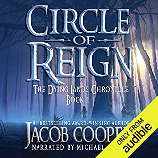 Circle of Reign                   By:                                                                                                                                 Jacob Cooper                               Narrated by:                                                                                                                                 Michael Kramer                      Length: 24 hrs and 37 mins     733 ratings     Overall 4.5