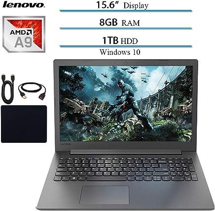 "Lenovo Ideapad Premium 15.6"" Laptop Notebook Computer 2019 New, AMD A9-9425 Up to 3.7GHz, 8GB RAM, 1TB HDD, DVD-RW, Wi-Fi, Bluetooth, Webcam, USB 3.0, HDMI, Windows 10 W/ 29.9 Value Accessories Bundle"