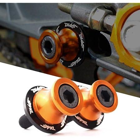 M10 10mm Schwingenschutz Schwingenadapter Ständer Bobbins Spool Racingadapter Ständeraufnahme Für K T M Duke 125 200 390 790 990 1190 1090 Rc125 Rc200 Rc250 Rc390 Auto