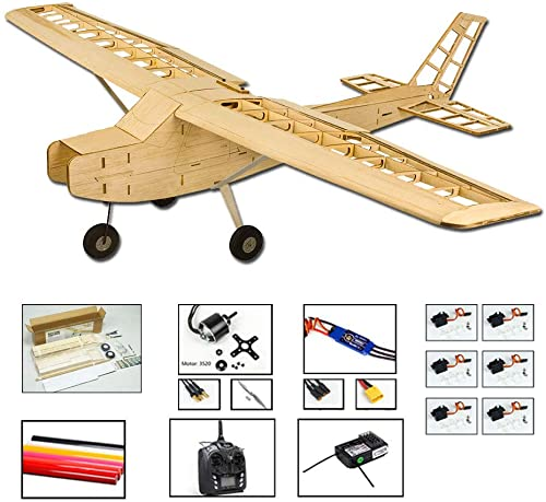 precios mas bajos Balsawood avión de entrenamiento entrenamiento entrenamiento eléctrico de 1200 mm T-20 Cessna 152 necesita construir avión; Basswood 4CH Radio Controlado Láser Corte Aeroplano Kit Un-Mounted Modelo de vuelo para adultos  con 60% de descuento