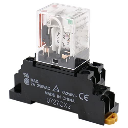 24V Relay and Base: Amazon.com on