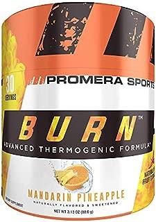 ProMera Sports BURN, Mandarin Pineapple, 30 Servings, Thermogenic Fat Burner Powder for Weight Loss, Fat Burners for Men & Women