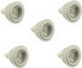 SGJFZD GU5.3 Spot Light 5W Warm 60 Degree Beam 400-450lm MR16 LED Bulb AC/DC 24V 36V 50W Halogen Equivalent 5-Pack ( Color...