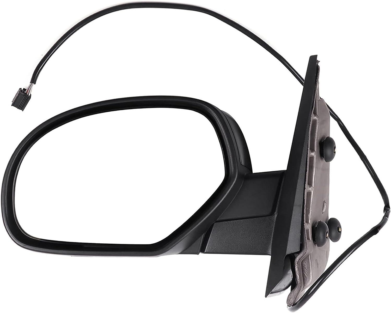Eccpp de remorquage Miroir pour 440–440 Chevy Avalanche 440 &  Xff40 C ;  240408–440 GMC Sierra 440 Noir chauffant électrique côté conducteur Miroir