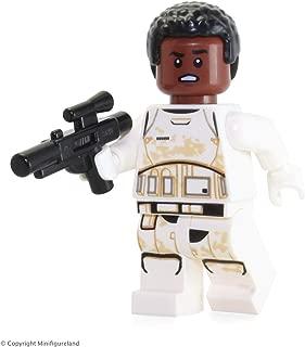 LEGO Star Wars The Force Awakens LOOSE Minifigure - Finn Stormtrooper FN-2187 with Blaster Gun