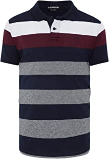 Connor Men's Mackenzie Polo Regular Collared Casual Tops Sizes XS-3XL Affordable Quality with Great Value