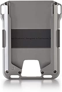 Dango M1 Maverick Rail EDC Wallet - Made in USA - All-Metal, Minimalist, Slim, RFID Blocking