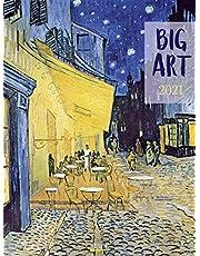 Big ART 2021: Großer Kunstkalender mit extragroßen Bildern. Edler Wandkalender mit Werken des Impressionismus und Klassischer Moderne. Kunst Gallery Format: 48x64 cm