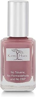 Esmalte de uñas natural orgánico Karma pintura de uñas no tóxica vegana y sin crueldad (en punto de vino)