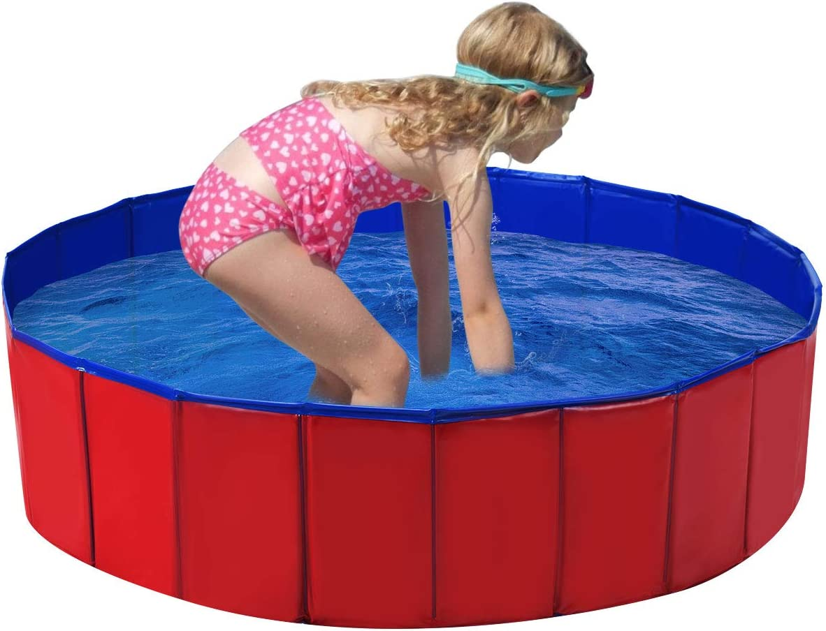 """Special price Costzon Foldable Swimming Pool for Fort Worth Mall Col x 48"""" Kids 12"""""""