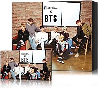 Mediheal X BTS Facial Mask Sheet Special Set/Mask Sheet 10ea + BTS Photocard 14ea (02 Brightening Care)