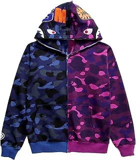 Mens Ape Bape Hoodies Sweatshirt Fashion Casual Coat Outdoor Hip-Hop Funny Tops