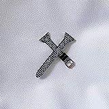 N\C Bracelet De Montre Mince pour Femme, Bracelet en Toile Pied-de-Poule,...