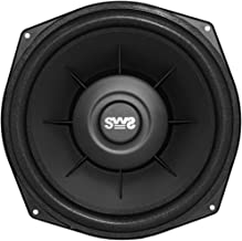 Earthquake Sound SWS-8X 8-inch Shallow Woofer System Under-the-Seat Subwoofer, 4-Ohm (Single)
