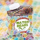 Bolas de Agua Gel Suelo Agua Bolas de Cristal 30,000 Gelatina de Agua de Colores Gema Jarrón de Relleno para Decoraciones del hogar