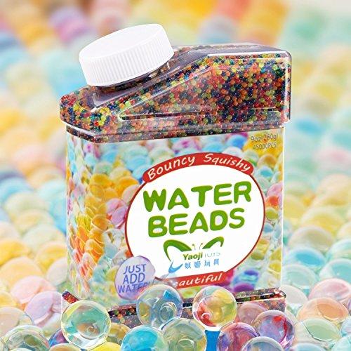 sailfish Wasser Perlen Balls Gel Boden Wasser Kristall Perlen 30.000 Bunte Gelee Wasser Edelsteine Vase Füllstoff für Hauptdekorationen