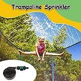 Trampolin-Sprinkler - Wasserspiel für Kinder im Freien Trampolin-Sprinkler im Freien Wasserpark...