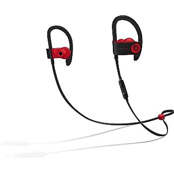 Powerbeats3 Wireless Earphones - Apple W1 Headphone Chip, Class 1 Bluetooth, 12 Hours Of Listening Time, Sweat Resistant Earbuds - Defiant Black-Red