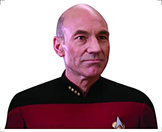 FanWraps Star Trek: The Next Generation Captain Jean-Luc Picard Passenger Series Window Decal