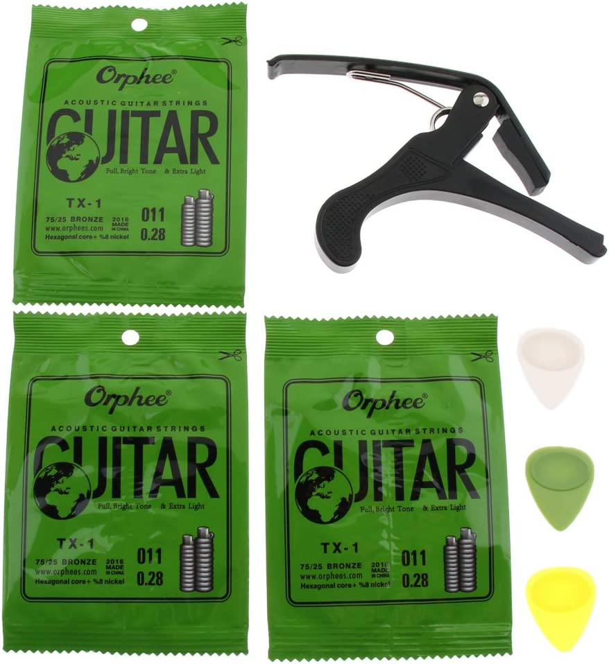 T TOOYFUL 2021 autumn and winter new Practical At the price DIY Replacement Pick Strings + Guitar Finger