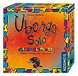 Kosmos FKS6942030 694203 Ubongo Solo, 1 Spieler 45 Legeteile 546 Level, Knobelspaß und Legespiel, Brettspiel ab 8 Jahre