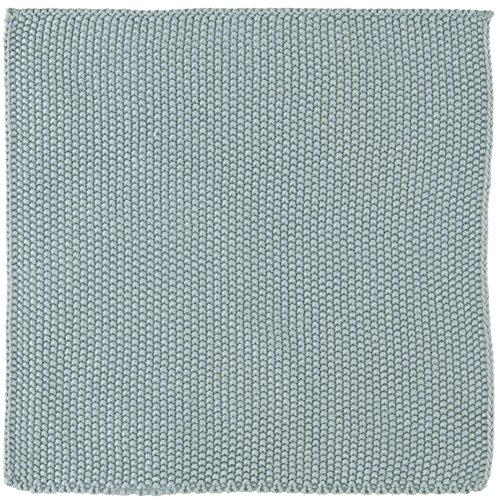 IB Laursen Spüllappen Mynte Nordic Sky gestrickt Küchenhandtuch Handtuch blau Küchentuch Tuch Universaltuch Allzwecktuch Waschlappen Serviette
