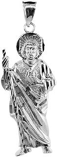 925 Sterling Silver Saint Jude Charm Pendant