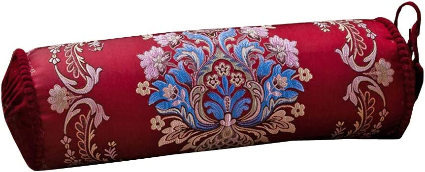 European Max 47% OFF Palace Luxury Long Sofa Candy P Pillow Genuine Bolster Cylinder