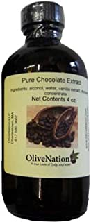 Chocolate Extract by OliveNation - Add Dark Chocolate Flavor in Recipes - Size of 2 oz