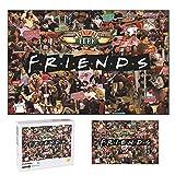 Friends Puzzle 1000 Piece Puzzle for Adults Friends Merchandise Jigsaw Puzzles for Friends Fans