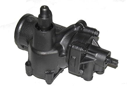 Detroit Axle - Complete Power Steering Gear Box Assembly for Chevrolet Silverado 1500, Tahoe & GMC Sierra 1500, Yukon Trucks w/Off-Road Package
