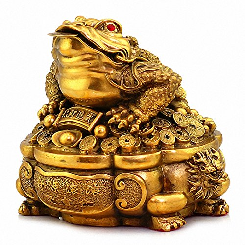 Large Size Brass Thriving Business Feng Shui Money...