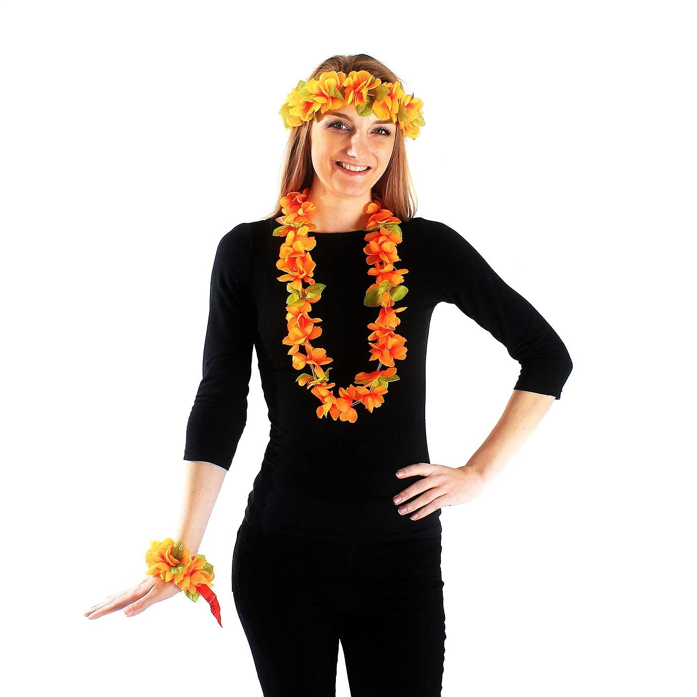 AUA-style Hawaii Luau Soldering Party 100% quality warranty! Artificial Fabric Haku Princess Lei