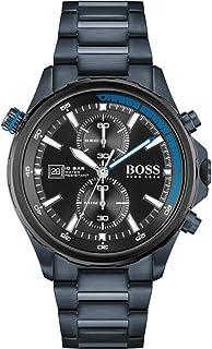 ساعة يد كوارتز بعرض انالوج وسوار من الستانلس ستيل للرجال من هوغو بوس 1513824