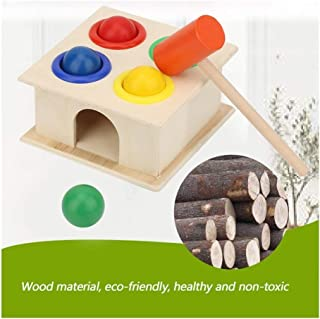 HTJSDC Wooden toys for babies hammer early learning toy children's educational toys Multicolor (Color : B-1)