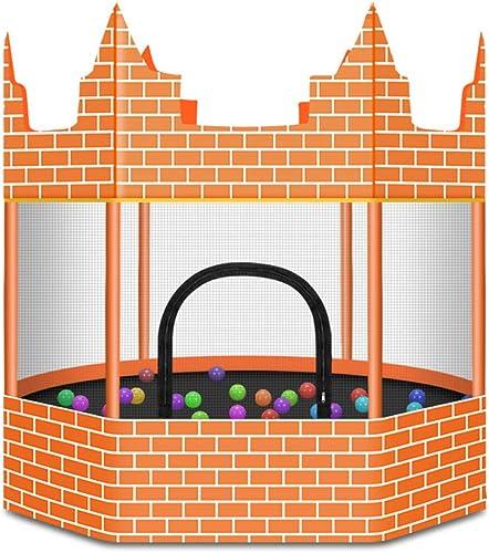 orden en línea Castillo de Trampolín Resistente no Rodante Niños de de de la Familia Cama de Rebote para bebés en Interiores  envío gratis