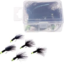 Fly fishing Bunny Leech Conehead Eight pack size 8-10 Leach #103
