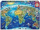 Educa - Símbolos del Mundo Puzzle, 2000 Piezas, Multicolor (17129)