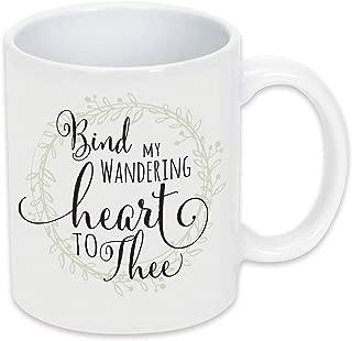 bind my wandering heart to thee