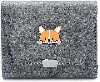 Yunshm Christmas Bulldog Leather Zipper Clutch Bag Wallet Large Capacity Long Purse For Women Customized