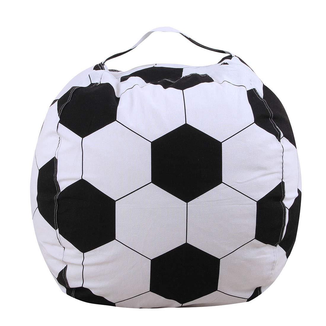 Hagoelvago Puff Pelota Balón de Fútbol Original Polipiel Colores ...