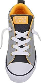 Converse Kid's Shoes Chuck Taylor All Star Street Mid Gray Fashion Skate Sneakers